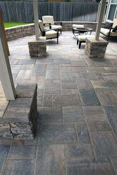 Top 50 Best Stamped Concrete Patio Ideas - Outdoor Space Designs