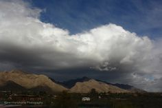 Clouds over the Catalina Mountains, Tucson, Arizona