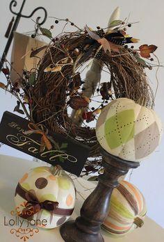 Frugal with a Flourish: 9 Ideas for Pretty Pumpkins