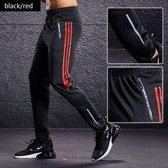 Soccer Pants, Sport Pants, Men Pants, Workout Wear, Workout Pants, Mens Joggers, Sweatpants, Joggers Outfit, Stripes