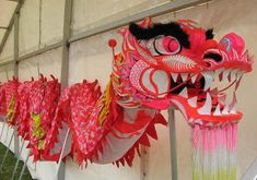 Chinese New Year is a great excuse to practice important skills while celebrating an important part of Chinese culture. When is Chinese New Year? Chinese New Ye Chinese New Year Dragon, Chinese New Year Crafts, Year Of The Dragon, Dragon Dance, Dragon Head, Dragon Art, Chinese Culture, Chinese Art, Chinese Theme