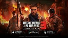 'Brothers in Arms 3: Sons of War s a  World War II-era third-person shooter video game and here is the modded version of Brothers in Arms 3 android game