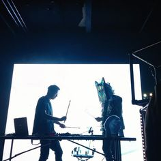 #giraffage and #slowmagic share a stage and turn it up im so excited to have seen giraffage perform a second time this time in toronto!!!! although I sadly did not get a chance to say hi to him unlike last time in sg #socute by: @xiusuyan