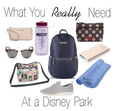 There are a lot of suggestions out there for what you need to pack for Walt Disney World. Here's what you REALLY need with you for a day in the parks.