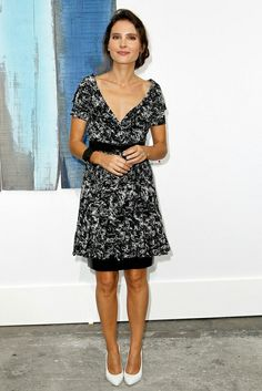 Virginie Ledoyen in Chanel