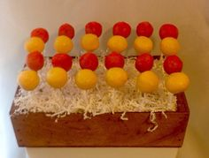 Construction Dig Birthday Cake Pops