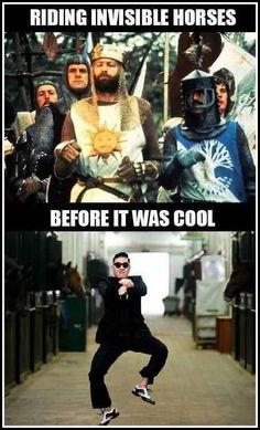 Seriously Monty Python, respect. :}