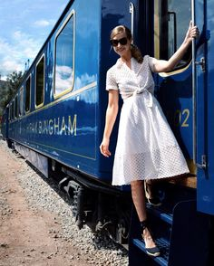 So excited to head to Machu Picchu on the legendary Hiram Bingham train! All of my Wes Anderson dreams are about to come true. @belmondhirambingham #belmondpostcards #flinnersinperu