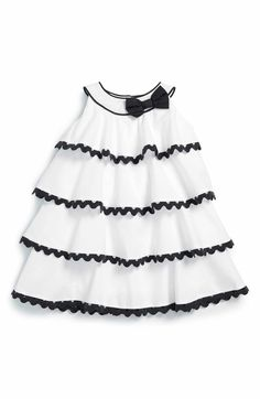 Main Image - Biscotti 'Rhumba' Sleeveless Tiered Dress (Baby Girls)