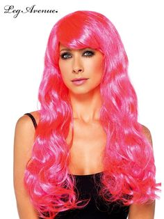 Blondes may have a lot of fun, but a pretty lady with pink hair is always the life of the party.