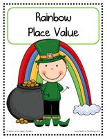 St. Patrick'sDay Place Value Activity:Match each place value card to the correct number on the pot of gold. Then, fill out the place value worksheet.    St. Patrick's Day Place ValueActivity – Click Here    Information: St. Patrick's Day Activity, Place Value, Tens, Ones, March