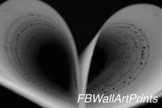 Music Heart, Heart Print, Music Lovers, Printable Wall Art, Wall Art Decor, Photo Art, Physics, Sheet Music, Printing