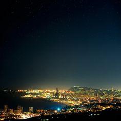 Barcelona - Night skyline
