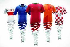 Uniformes de fútbol a partir de botellas PET