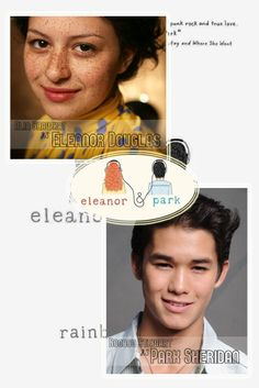 I dont think the girl fits As Eleanor but if boo boo stewart could be Park Sheridan.....yes please
