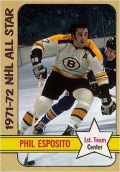 Phil Esposito Boston Bruins
