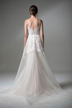 Amelie dress by Anais Anette available at frock and soul bridal boutique manchester #anaisanette #twopiece #bridaltwopiece #weddingdress #bohowedding #bohobride #beachbride #beachwedding