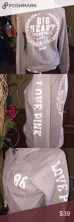 P. I. N. K. Hoodie size medium I am a posh suggested user. Fast shipper posh mentor. I can give more pics if needed. Smoke free home. EUC PINK Victoria's Secret Tops Sweatshirts & Hoodies