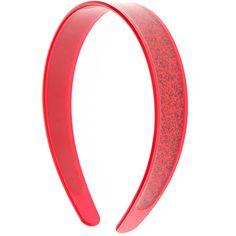 Red Glitter Headband ❤ liked on Polyvore featuring accessories, hair accessories, red headband, glitter headbands, glitter hair accessories, head wrap hair accessories and head wrap headband