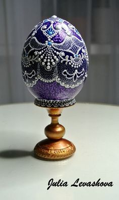 Новости Lace Painting, Dot Painting, Egg Crafts, Easter Crafts, Faberge Eier, Fabrege Eggs, Carved Eggs, Egg Designs, Egg Art