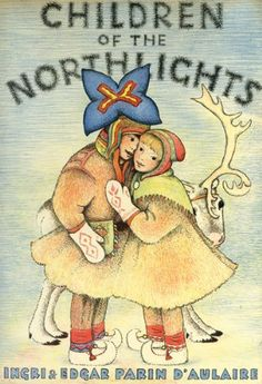 Children of the Northlights by Ingri d'Aulaire, http://www.amazon.com/dp/0816679231/ref=cm_sw_r_pi_dp_7BVOrb1RB5BFA