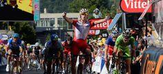 Nella dodicesima tappa del Tour de France acuto di Alexander Kristoff (Katusha).....Ora la due giorni sulle Alpi  http://www.mondociclismo.com/tour-de-france-kristoff-vince-la-12-tappa-beffato-ancora-sagan-ora-le-alpi-20140717.htm  #TDF #ciclismo #Tour #Nibali
