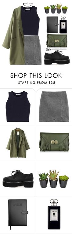 """Untitled #887"" by mycherryblossom ❤ liked on Polyvore featuring Elizabeth and James, Diane Von Furstenberg, Royce Leather, Jo Malone, Yves Saint Laurent, polyvoreeditorial, polyvorestyle and blackchoker"