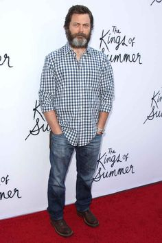 Nick Offerman | An Official Ranking Of The 51 Hottest Bearded Men In Hollywood