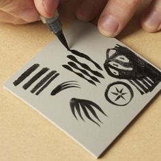 Tips for linocut - art students (I found this very helpful as a starting point)