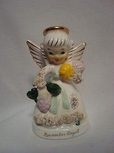 Vintage 50's Napco Novermber Angel