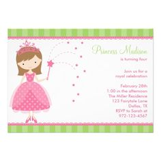 Nice Princess Birthday Party Invitations Wording  Download this invitation for FREE at https://www.drevio.com/princess-birthday-party-invitations-wording/