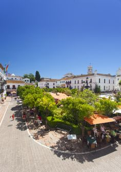 "Marbella, Spain. Old Town. ""Orange Square"""