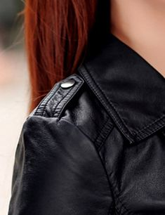 Womens Plus Size Slim Lapel Faux Leather Biker Motorcycle Zipper Jacket Coat Black Medium * Learn more by visiting the image link. (This is an affiliate link and I receive a commission for the sales) City Aesthetic, Aesthetic Images, Black Widow Aesthetic, Lily Evans, Riot Grrrl, Ginger Girls, Crescent City, Character Aesthetic, Dark Fashion