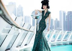Am 23. Oktober 2016 verwandelt Model und Unternehmerin Jessica Minh Anh in New York das Sonnendeck des Kreuzfahrtschiffes AIDAluna in einen Laufsteg. Vor der berühmten Skyline wird sie ihre berühmt…