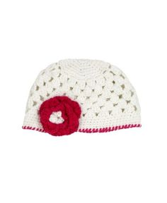 #RuggedButts - RuffleButts Handmade Crocheted Ava Marie Beanie  | www.RuffleButts.com