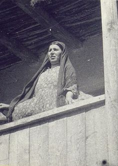 A resident with. Rutul 1952   Жительница с. Рутул 1952 год