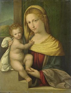 Madonna and Child by Benvenuto Tisi da Garofalo