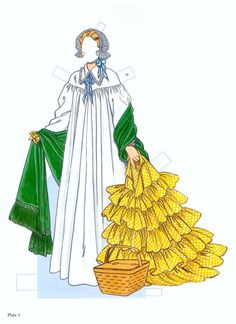 Southern Belles Paper Dolls by Tom Tierney 12
