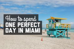 It was fairly easy to see the main attractions in a day. If you're heading to Miami anytime soon, here's how to spend one perfect day in Miami!