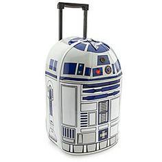 R2-D2 - Trolley-Koffer mit Geräuscheffekten http://www.meinspielzeug24.de/disney/r2-d2-trolley-koffer-mit-geraeuscheffekten/ #Disney, #Produkte, #ReisegepäckKoffer, #SchuheundAccessoires, #StarWars