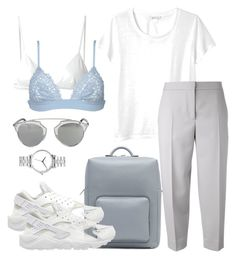 """""""Classy"""" by laugarcini on Polyvore featuring MCM, NIKE, Christian Dior, T By Alexander Wang, Nixon, Monki, Maison Margiela and La Perla"""