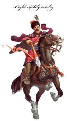 Light Székely cavalry, half of the 17th century