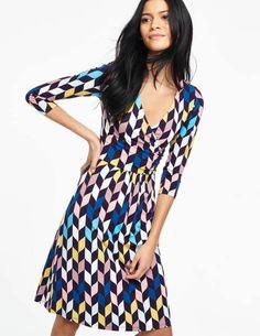 Elena Fixed Wrap Dress