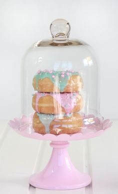 ☛All Things Pastel☚ideia para expor doces e bolos