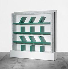 Survetta bookcase by Ettore Sottsass,