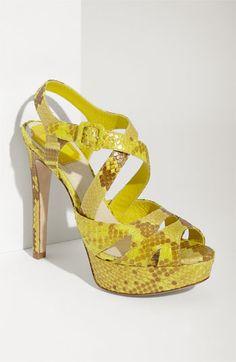Dior 'Miss Dior' Genuine Python Sandal | Nordstrom - Ahhhh!