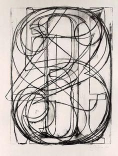 "Jasper Johns - ""0-9"", 1960, lithograph"