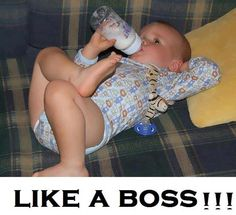 Like a boss baby - Funny Pictures, Awesome Funny Babies, Funny Kids, Cute Kids, Cute Babies, Baby Kids, Funny Pictures For Kids, Baby Pictures, Funny Photos, Silly Photos