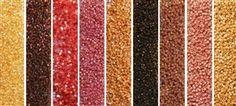Golden Garnet Monday - Exclusive Mix of Miyuki Delica Seed Beads