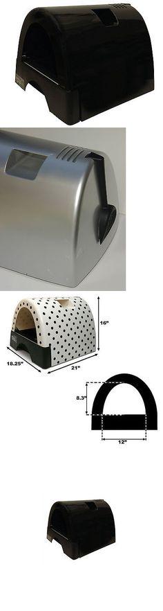 Litter 116363: Kittyagogo Designer Cat Litter Box With Black Shiny Cover -> BUY IT NOW ONLY: $108.99 on eBay!